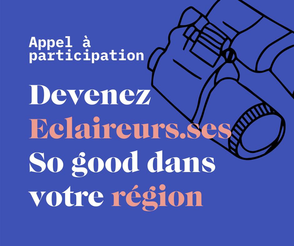 Visuel Eclaireurs.ses So good